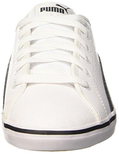 Puma Jr Sl V2 Elsu Sneaker, Blanco y Negro, 3