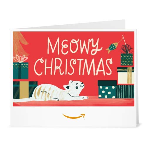 Meowy Christmas - Print at Home