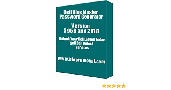 Amazon com: Dell Bios Password Generator: Software
