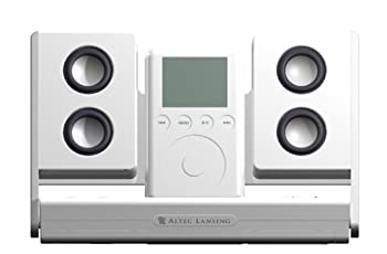 Altec Lansing Inmotion Portable Audio System For Ipod (White) 1