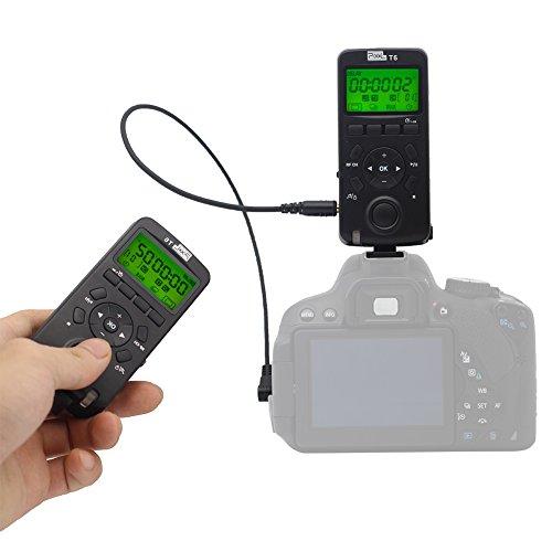 Shutter Remote Control,PIXEL Wireless Shutter Release Timer Remote Control(Equal to TW283 DC0,TW283 DC2) for Nikon DSLR Digital Camera D800 Series D3100 D7100 D7200 D7500 D5100 D5200 D5300 D90 D70