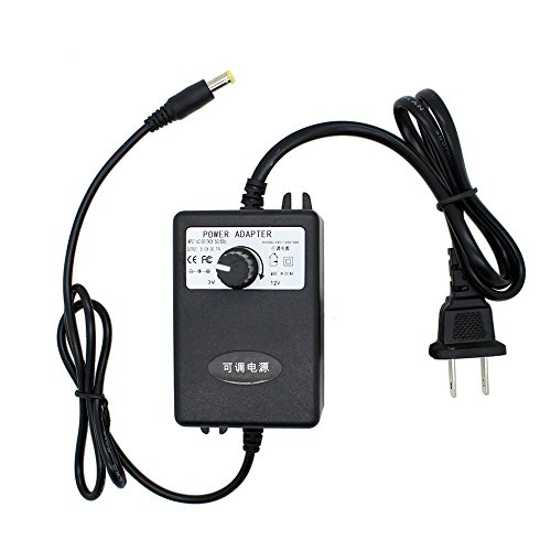 AUTOTOOLHOME AC/DC Adapter 3-12V 1A Adjustable Power Supply