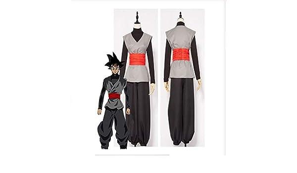 CQY Black Son Goku Cosplay Disfraz de Halloween Uniforme ...