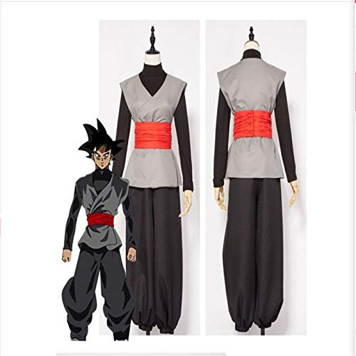 CQY Black Son Goku Cosplay Disfraz de Halloween Uniforme ...