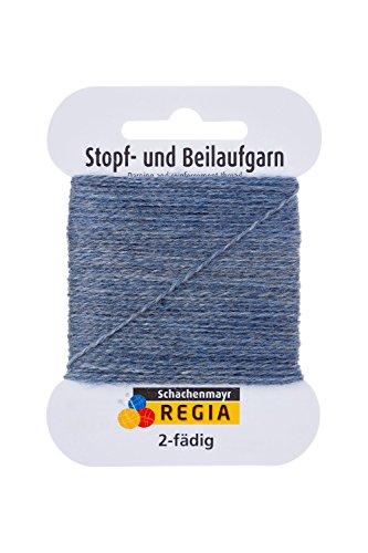 - Regia 2-Fadig - 2 Ply 01980 Graublau Meliert