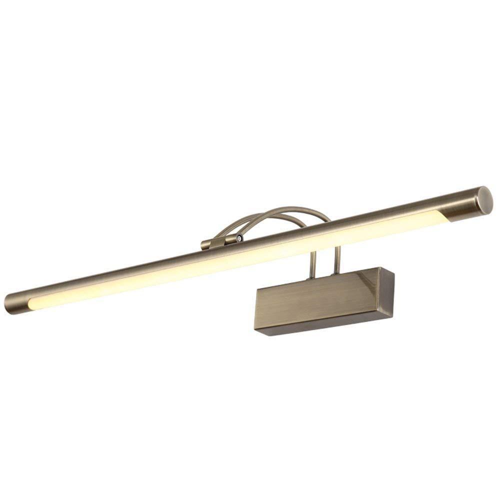 Vordere Scheinwerfer, Spiegel Badezimmer LED Wasserdicht Beschlagfrei Spiegelschrank Lampen Badezimmer Make-up-Leuchten Drei-Farbdimmungstechnik (Größe  36 cm-9W)