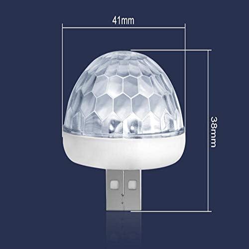 【GFA】イルミネーションLEDライトライトライトLedミニカラー雰囲気ライト自動USB効果ランプ自動車のデザイン