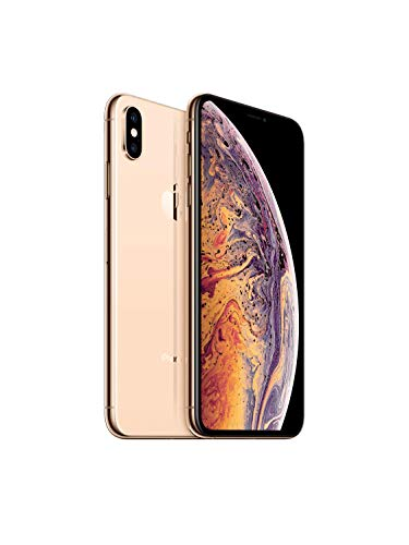 Apple iPhone Xs Max, 64GB, Gold – For Sprint (Renewed)