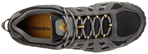 Columbia Men's REDMOND WATERPROOF Hiking Shoe, Black, Squash, 10 D US ()