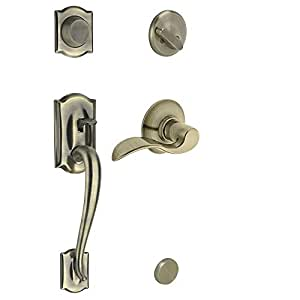 Schlage F93cam609accrh Camelot Inactive Handleset With