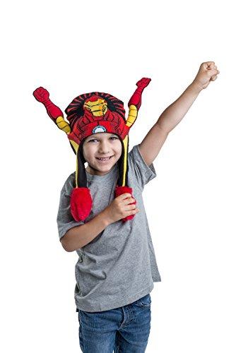 The Avengers Boys Flipeez Hat- Iron - Hats Ironman