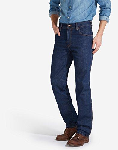 Texas Wrangler Blu Darkstone darkstone Jeans Uomo qwUFwdv