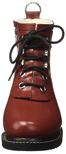 Ilse Jacobsen Damen Gummistiefel Kurz, Rub2, Zapatillas de estar Por Casa Para Mujer Rot (stein Rot)