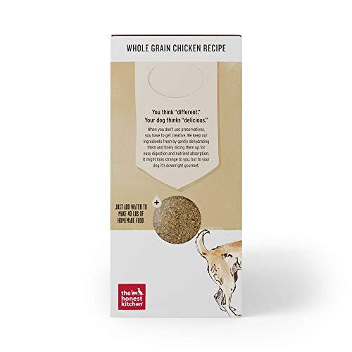 Honest Kitchen Human Grade Dehydrated Organic Grain Chicken Dog Food Box, 10 lb