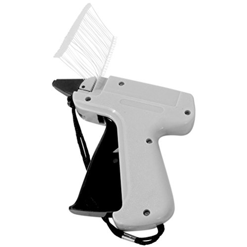 Evelots Tag Attaching Tagging Gun With 1000 Standard Attachment Fasteners (Street Tags)
