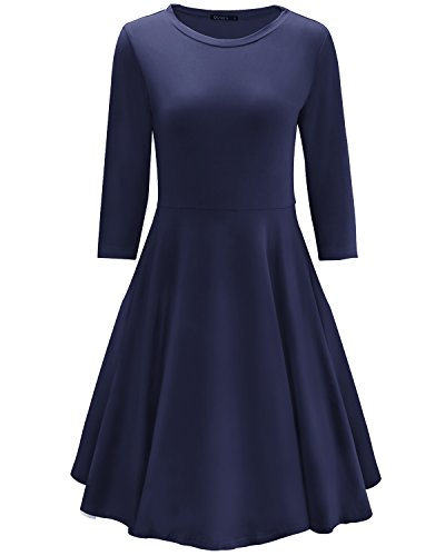 Ladies 3/4 Sleeve Dress - 4