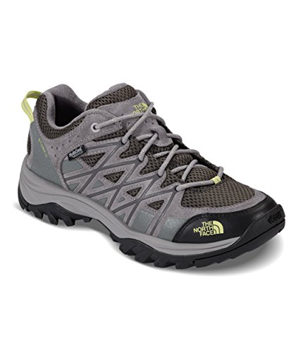 The North Face Women's Storm III Waterproof Hiking Shoes - Darkgull Gray and Chiffon Yellow - 6 by The North Face