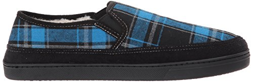 Steve Madden Mens Pscott Slipper Plaid Blu