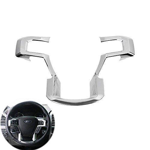 Ford F150 Steering Wheels (Steering Wheel Cover trims for 2015 2016 2017 Ford F150 F-150 Accessories)