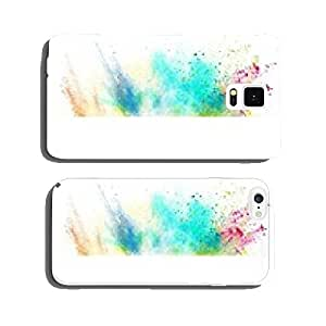 Fresh banner with colorful splash effect cell phone cover case iPhone6