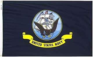 product image for 3x5' US Navy Nylon Flag - All Weather, Durable, Outdoor Nylon Flag - All Star Flags