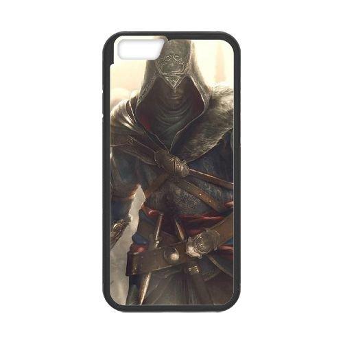 Ezio Auditore Da Firenze 017 coque iPhone 6 Plus 5.5 Inch Housse téléphone Noir de couverture de cas coque EOKXLLNCD15484
