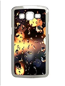 Samsung Grand 7106 Case and Cover -Rain Drops On The Window Photography PC Hard Plastic Case for Samsung Grand 2/Samsung Grand 7106 Transparent