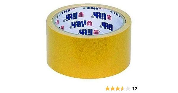 Cinta adhesiva de doble cara 50 mm x 25 m Ulith tendido de las cintas: Amazon.es: Bricolaje y herramientas