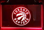 Toronto Raptors RED Led Light Sign