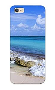 New Style Honeyhoney Hard Case Cover For iphone 6 plus - Landscapes Ocean Sea Waves Breakers Sky Clouds Tropical