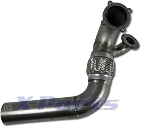 76Â mm Down Pipe para VR6Â Turbo umbau Golf 1Â 2Â 3Â wastegate Conector Pantalones Tubo: Amazon.es: Coche y moto
