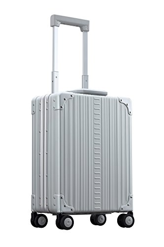 Aleon 20'' Vertical Aluminum Hardside Carry-On or Briefcase (Platinum) Sliver by ALEON