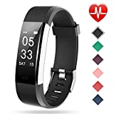 Smart Watch with Heart Rate Monitor Lintelek Fitness Activity Tracker Band Bl..