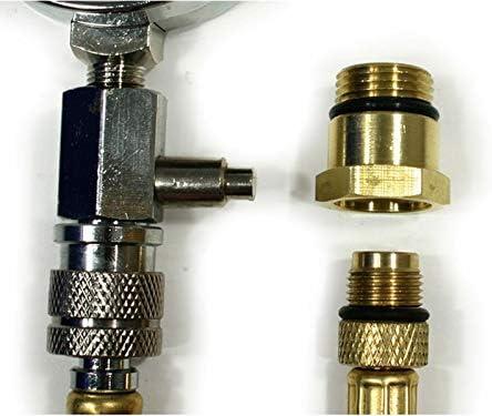 Druck Messgerät für Dichtigkeitsprüfung am Kurbelgehäuse von Motorsägen