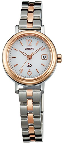 ORIENT Ladies Watch iO NATURAL & PLAIN Solar WI0021WG White WI0021WG