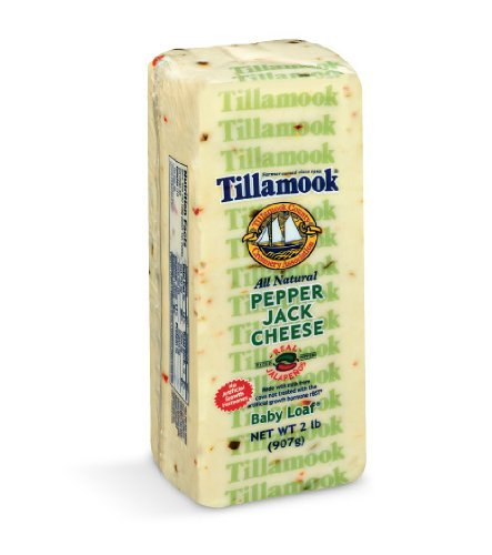 Pepper Jack Cheese - Tillamook Pepper Jack 2 lb Baby Loaf