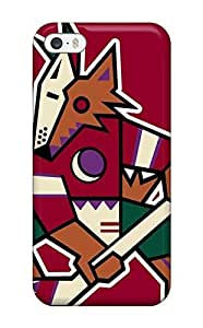 Brand New Defender Case For For iphone 5/5s (phoenix Coyotes Hockey Nhl (37) )(3D PC Soft Case)