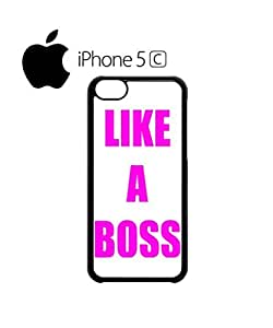 Like a Boss Meme Pink Fuschia Mobile Cell Phone Case Cover iPhone 5c Black by hollowden