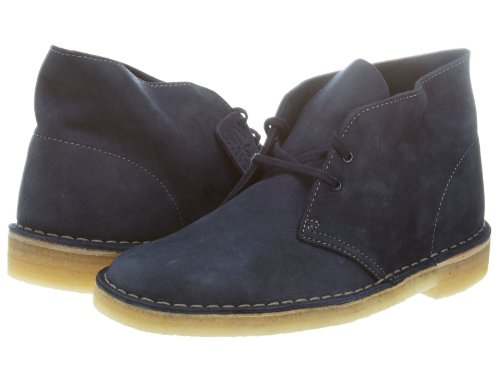 CLARKS Men's Desert Boot,Navy Nubuck,US 11 M (Best Price Clarks Desert Boots)