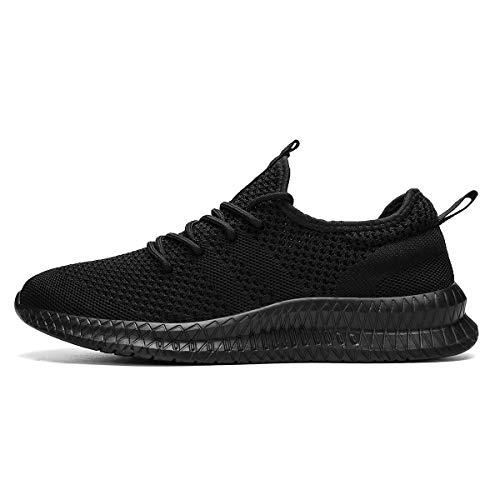 FUJEAK Hommes Chaussures De Course Hommes Casual Chaussures De Marche Respirantes Sport Baskets Athlétiques Gym Tennis… 3