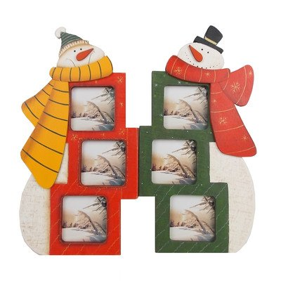 picture of Standing Snowman Photo Frame