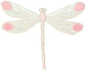 Tees & Novelties Patches For Everyone Iron-On Appliques-Pink Dragonfly 1/Pkg