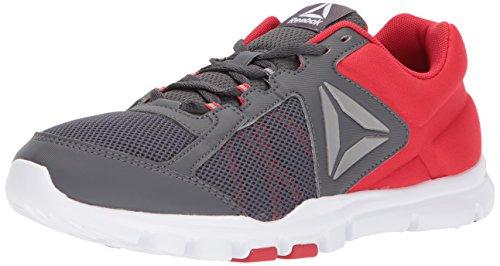 Reebok Yourflex Train 9.0 Mt Sneaker Oerrood / Ash Grey / Wit