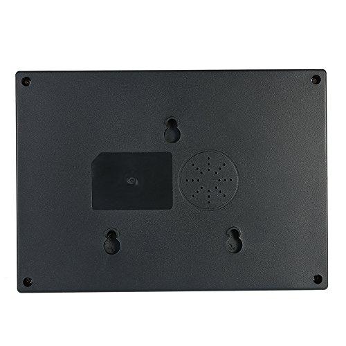 KKmoon Máquina de Asistencia de Contraseña de Huellas Dactilares Inteligente Biométrico Registrador de Registro de Empleados Pantalla TFT LCD de 2,4 ...