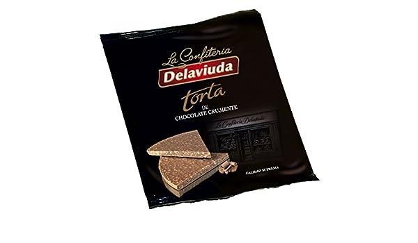 Delaviuda - Torta Chocolate Crujiente, 150 g: Amazon.es: Alimentación y bebidas