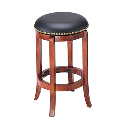 Oak Traditional Bar Stools (ACME 07198 Chelsea Swivel Counter Stool, Oak Finish, 24-Inch)