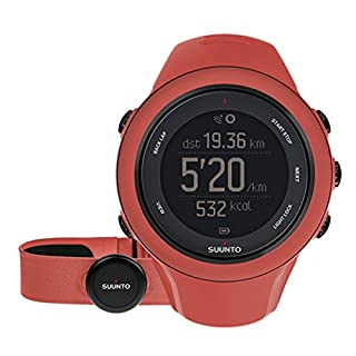 Suunto Unisex Ambit 3 Sport Coral Watch
