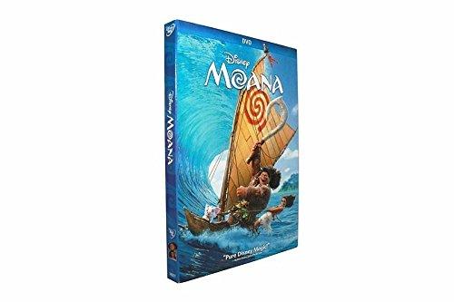 Moana  Dvd 2017 1 Disc Set