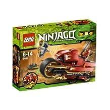 LEGO (LEGO) Ninjago (Ninja Go) Kai's Blade Cycle 9441 block toys (parallel import)