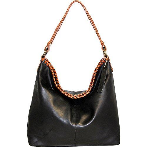 nino-bossi-daisy-petal-shoulder-bag-black